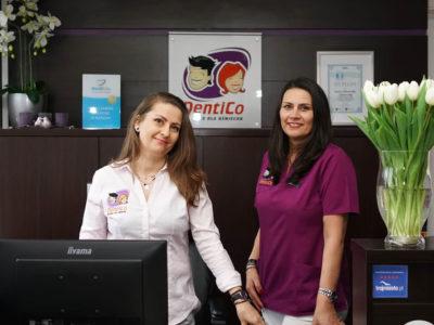 Pierwsza wizyta Rejestracja stomatolog Dentico formularz