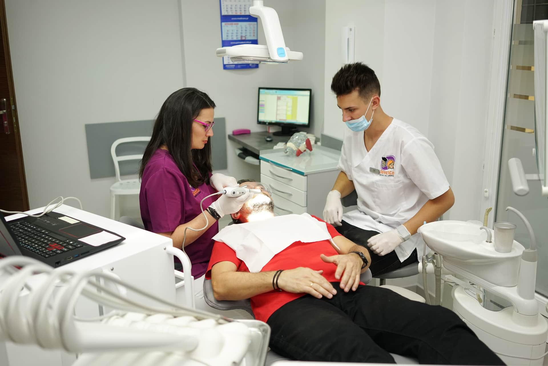 Licówki Flow Incjection - Bonding <span>Gdańsk</span> Skaner wewnątrzustnt Dentico Diagnostyka zębów gotdsc01953 8