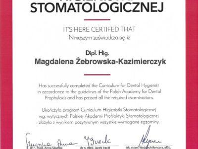 <span>mgr dyp. hig. Magdalena Żebrowska–Kazimierczyk</span> 20180623 191123